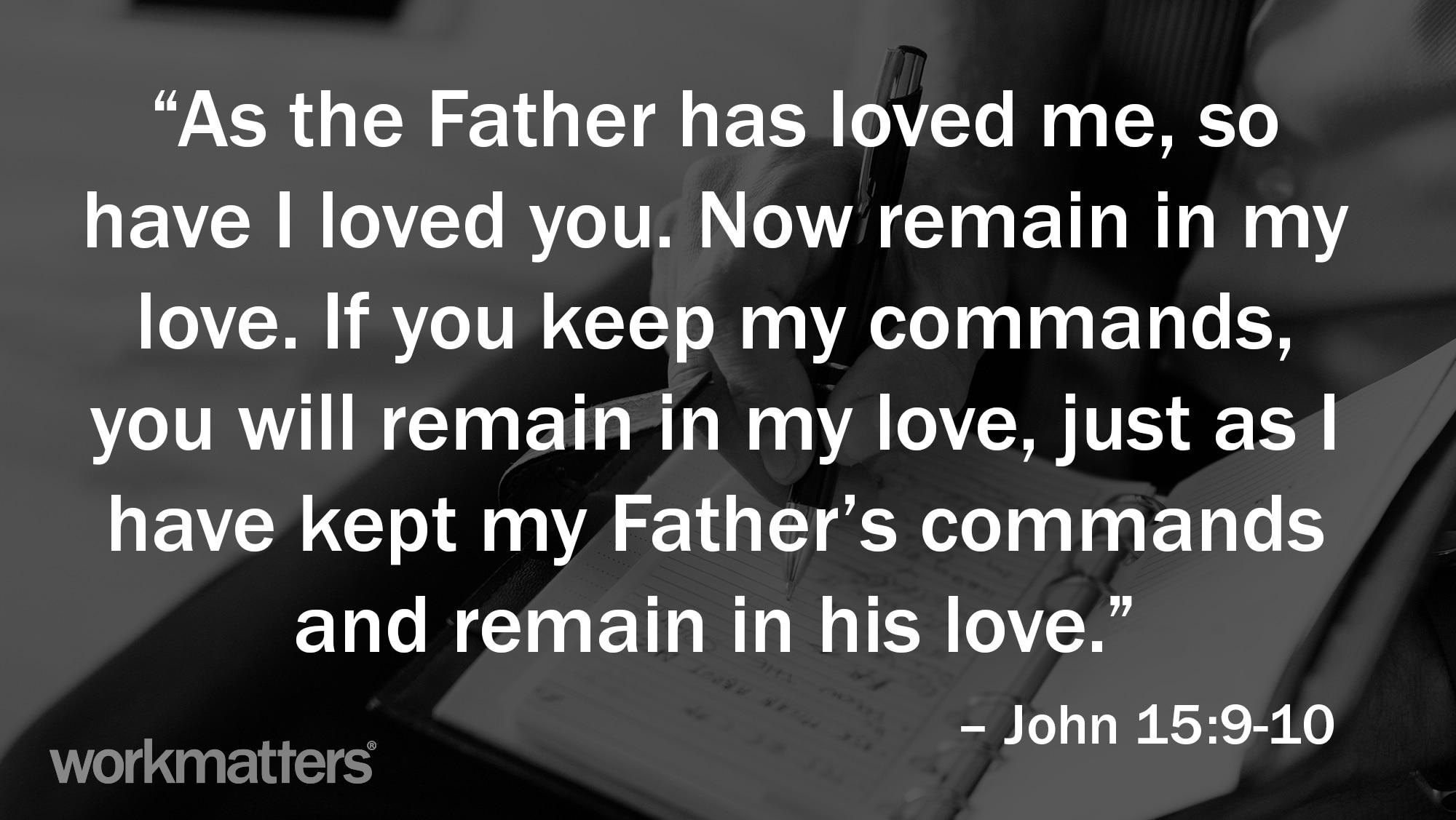 John 15:9-10