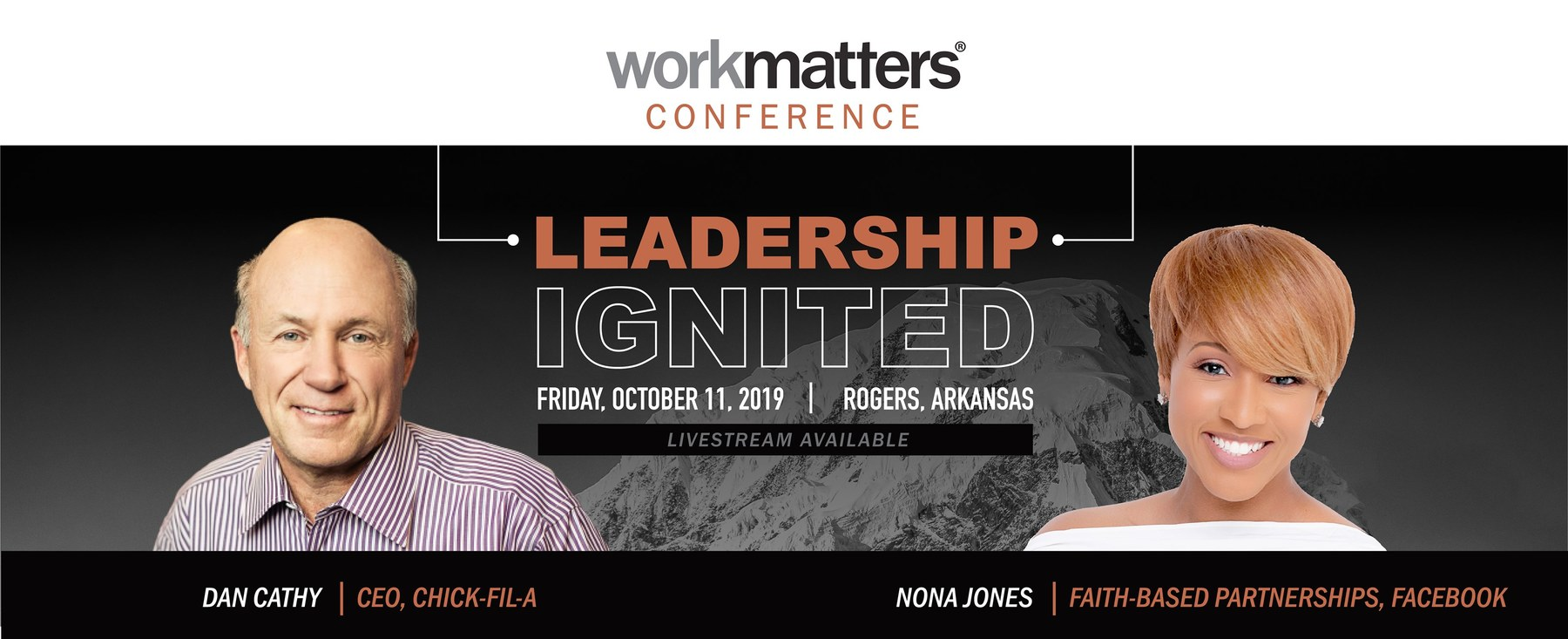 Leadership Ignited | 2019 Workmatters Conference | October 11th, 2019