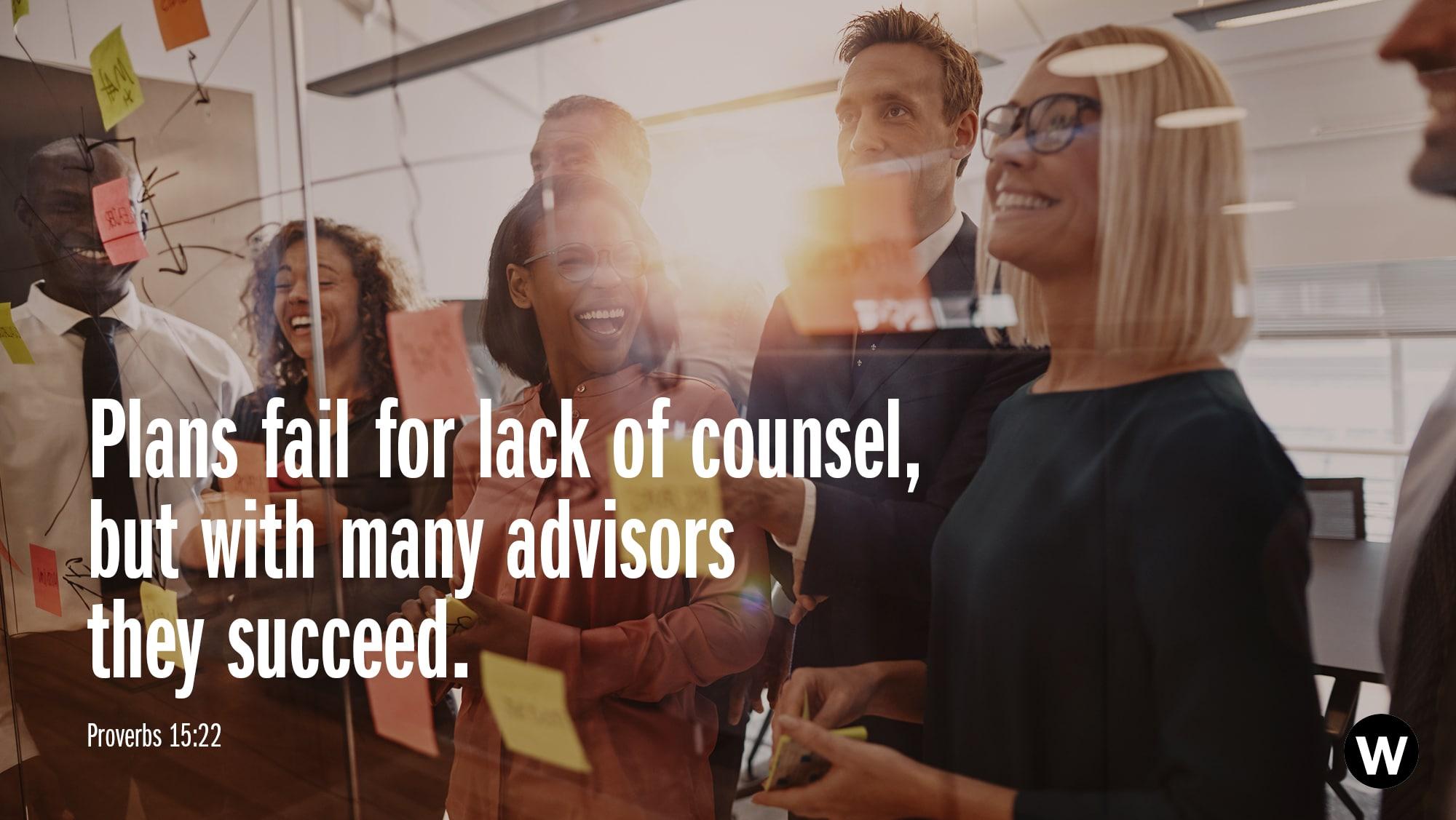 Wise Counsel Illuminates Blind Spots