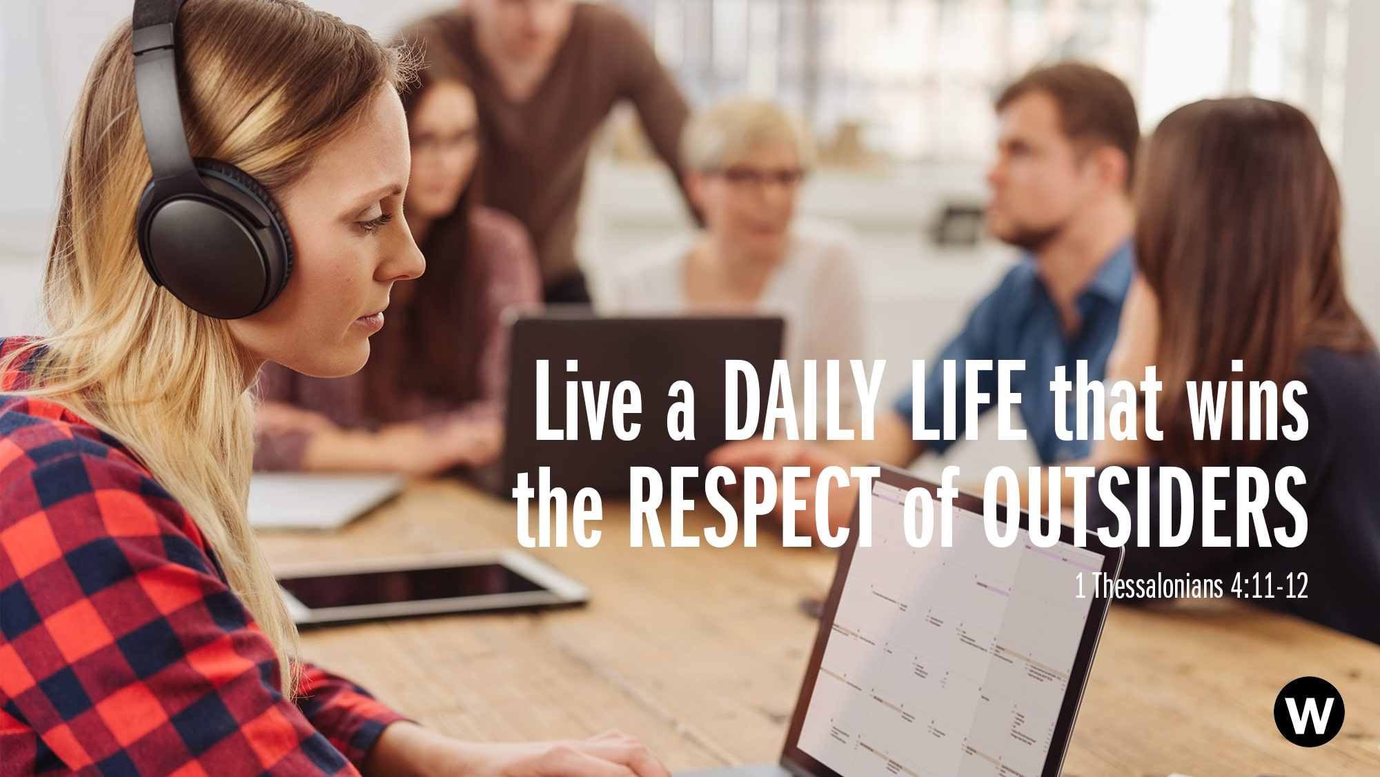 Living in a way that commands the respect of outsiders – in this case, those who do not follow Jesus – is vital to the furthering of the gospel. The onus is on each and every one of us, too. People are watching how we live out our lives, how we get our work done, […]