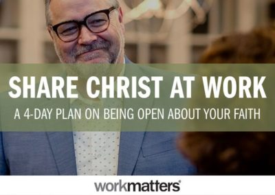 Share Christ at Work