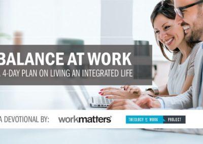 Balance at Work