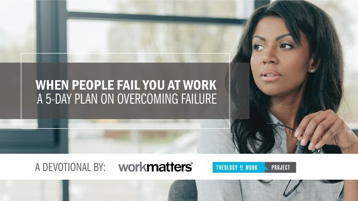 A 5-day plan on overcoming failure. In this plan, you'll gain practical suggestions and spiritual encouragement from Nehemiah that will help you keep working with excellence in spite of failure. Created in partnership with Theology of Work.