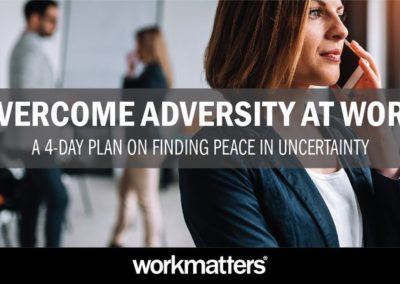 Overcome Adversity at Work