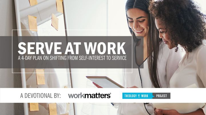 A 4-day plan on shifting from self-interest to service. In this plan, you'll learn from Paul's powerful example of what it looks like to serve others so that you can be a light for Christ at work. Created in partnership with Theology of Work.