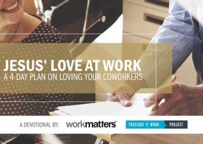 Jesus' Love at Work