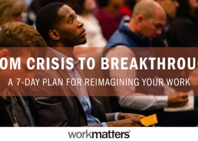 From Crisis to Breakthrough
